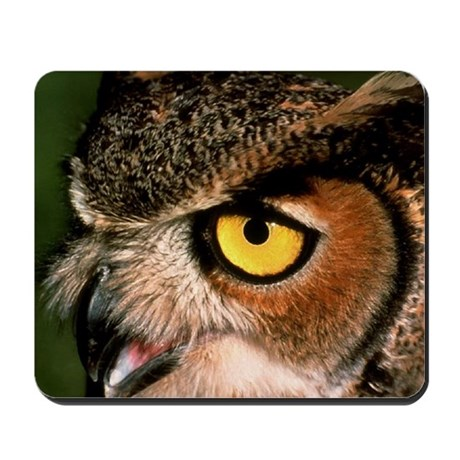 Great Horned Owl Mousepad