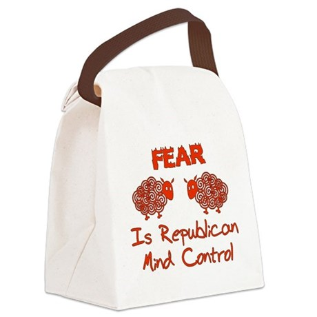 gop_fear01.png Canvas Lunch Bag