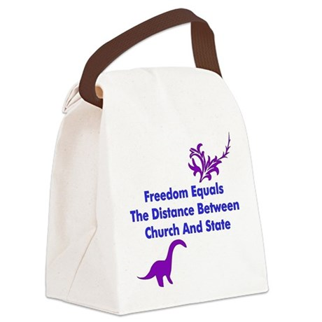 freedom01.png Canvas Lunch Bag