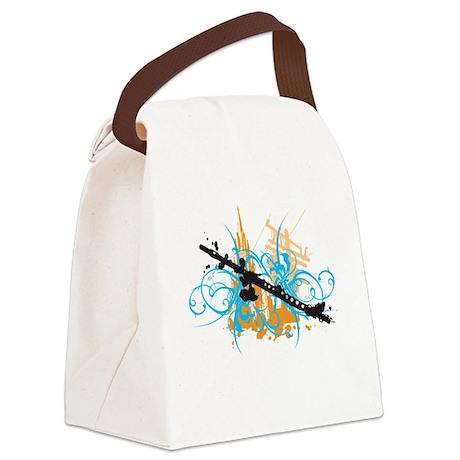 Urban Flute Canvas Lunch Bag
