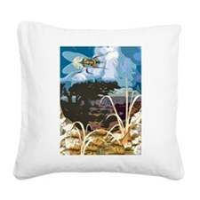 invasion01.png Square Canvas Pillow