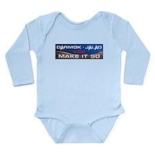 Darmok and Jalad Long Sleeve Infant Bodysuit