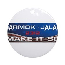 Darmok and Jalad Ornament (Round)