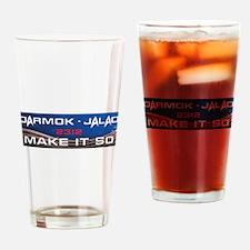 Darmok and Jalad Drinking Glass