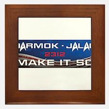 Darmok and Jalad Framed Tile
