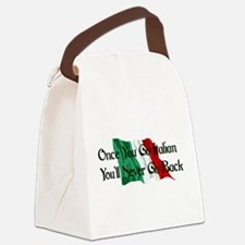 italian01.png Canvas Lunch Bag