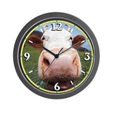 Cow Nose Wall Clock