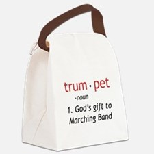 God's Gift Trumpet Canvas Lunch Bag