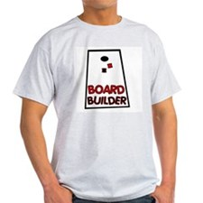 Board Builder Ash Grey T-Shirt