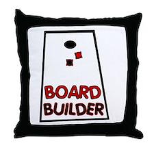 Board Builder Throw Pillow