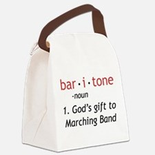 Definition of a Baritone Canvas Lunch Bag
