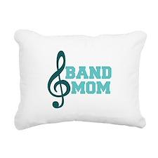 Treble Clef Band Mom Rectangular Canvas Pillow