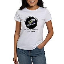 Seabee Husband U.S. Navy Tee