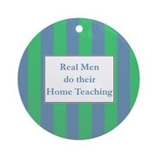 Real men - HT Ornament (Round)