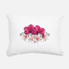 Floral Arrangement Rectangular Canvas Pillow