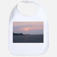 Sun rise Isle Of Palms South Carolina Bib