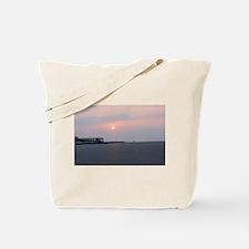 Sun rise Isle Of Palms South Carolina Tote Bag