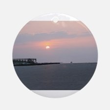 Sun rise Isle Of Palms South Carolina Ornament (Ro