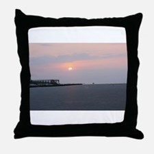 Sun rise Isle Of Palms South Carolina Throw Pillow