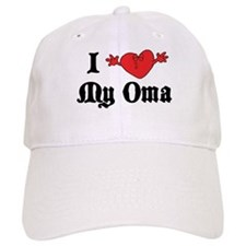 I Love My Oma Baseball Cap