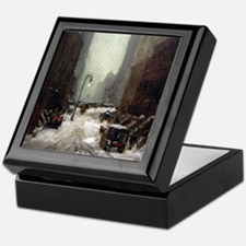 Robert Henri Snow In New York Keepsake Box