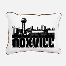 Knoxville Skyline Rectangular Canvas Pillow