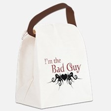 I'm the Bad Guy Canvas Lunch Bag