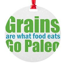 What Food Eats Ornament