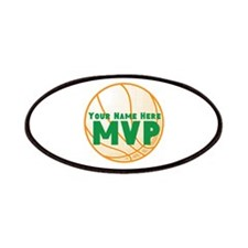 Personalized Basketball MVP. Patches