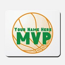 Personalized Basketball MVP. Mousepad
