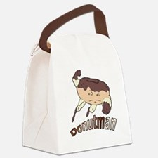 Donut Man Canvas Lunch Bag