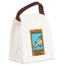 Slide Rule of Doom Canvas Lunch Bag