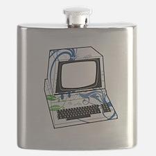 Old School Computer Flask