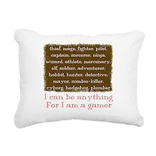 gamer_list.png Rectangular Canvas Pillow