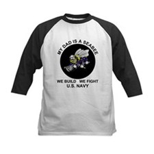 My Dad is a Seabee - US Navy Tee