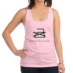 ironing_shirt.png Racerback Tank Top