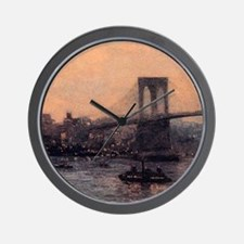 Edward Willis Redfield Brooklyn Bridge Wall Clock