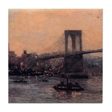 Edward Willis Redfield Brooklyn Bridge Tile Coaste