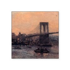Edward Willis Redfield Brooklyn Bridge Square Stic