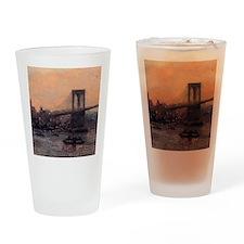 Edward Willis Redfield Brooklyn Bridge Drinking Gl