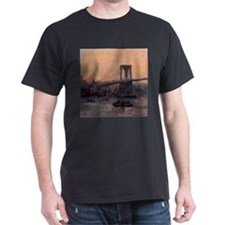 Edward Willis Redfield Brooklyn Bridge T-Shirt
