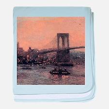 Edward Willis Redfield Brooklyn Bridge baby blanke