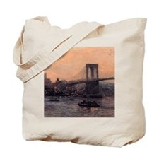 Edward Willis Redfield Brooklyn Bridge Tote Bag