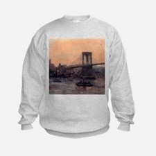 Edward Willis Redfield Brooklyn Bridge Sweatshirt