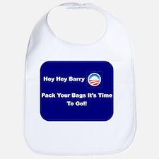 It's Time To Go Barry O Bib