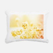 Winter Mums Rectangular Canvas Pillow