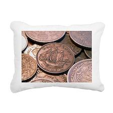 coins.jpg Rectangular Canvas Pillow