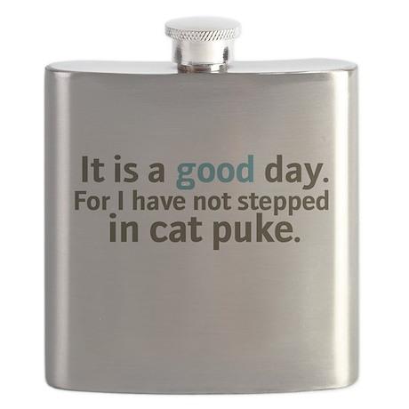 Cat Puke Flask