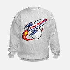 Personalized rocket Sweatshirt