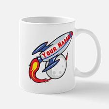 Personalized rocket Mug